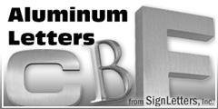 Aluminum Sign Letter